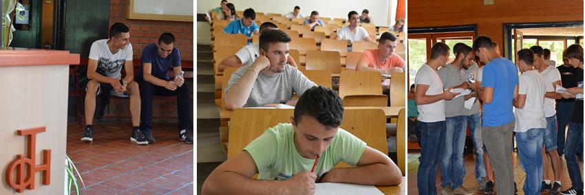 Probni prijemni ispit upis na fakultet 2015/2016